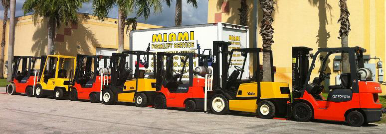 Miami Forklifts